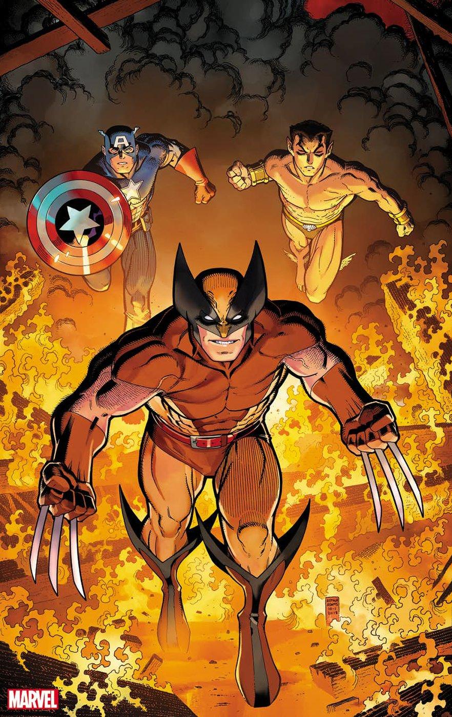 Marvel Comics Presents #1, copertina di Arthur Adams