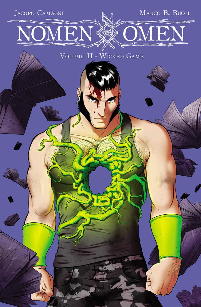 Nomen Omen vol. 2: Wicked Game, copertina di Jacopo Camagni
