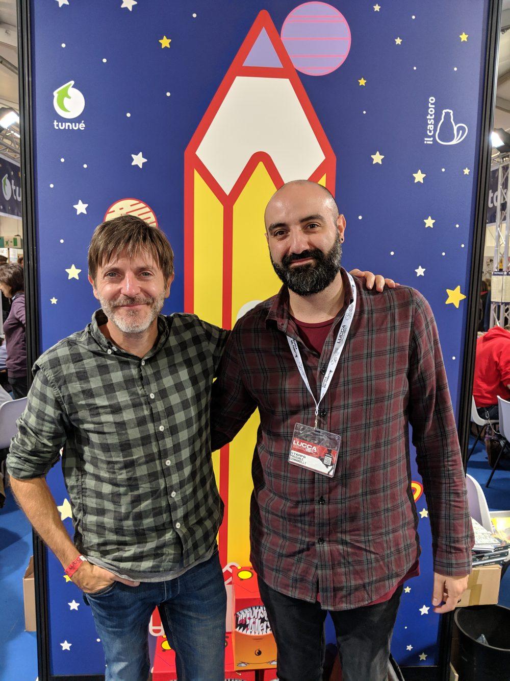 Paco Roca e Pasquale Gennarelli