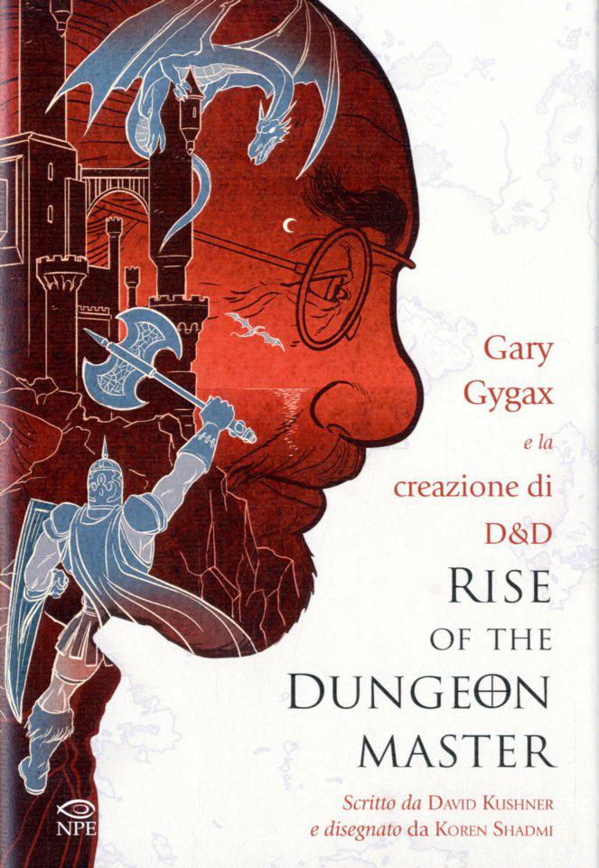 Rise of the Dungeon Master, copertina di Koren Shadmi