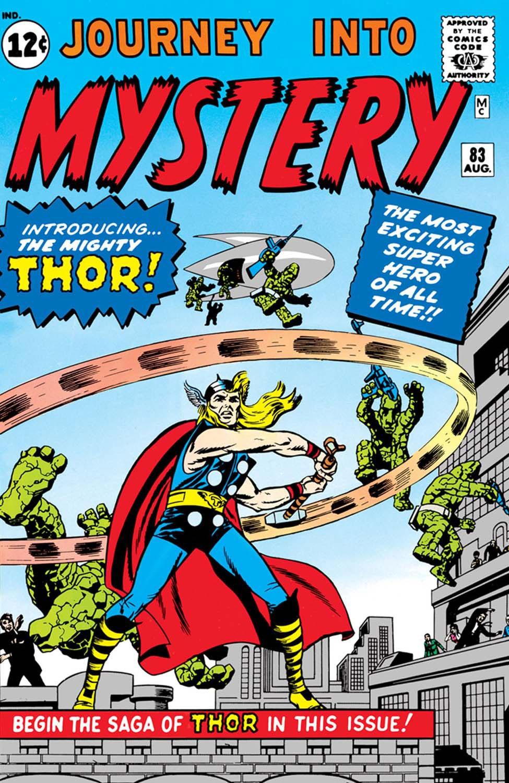 Journey Into Mystery #83, copertina di Jack Kirby
