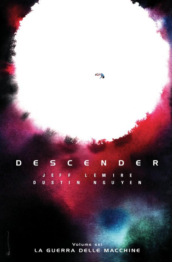 Descender vol. 6, copertina di Dustin Nguyen