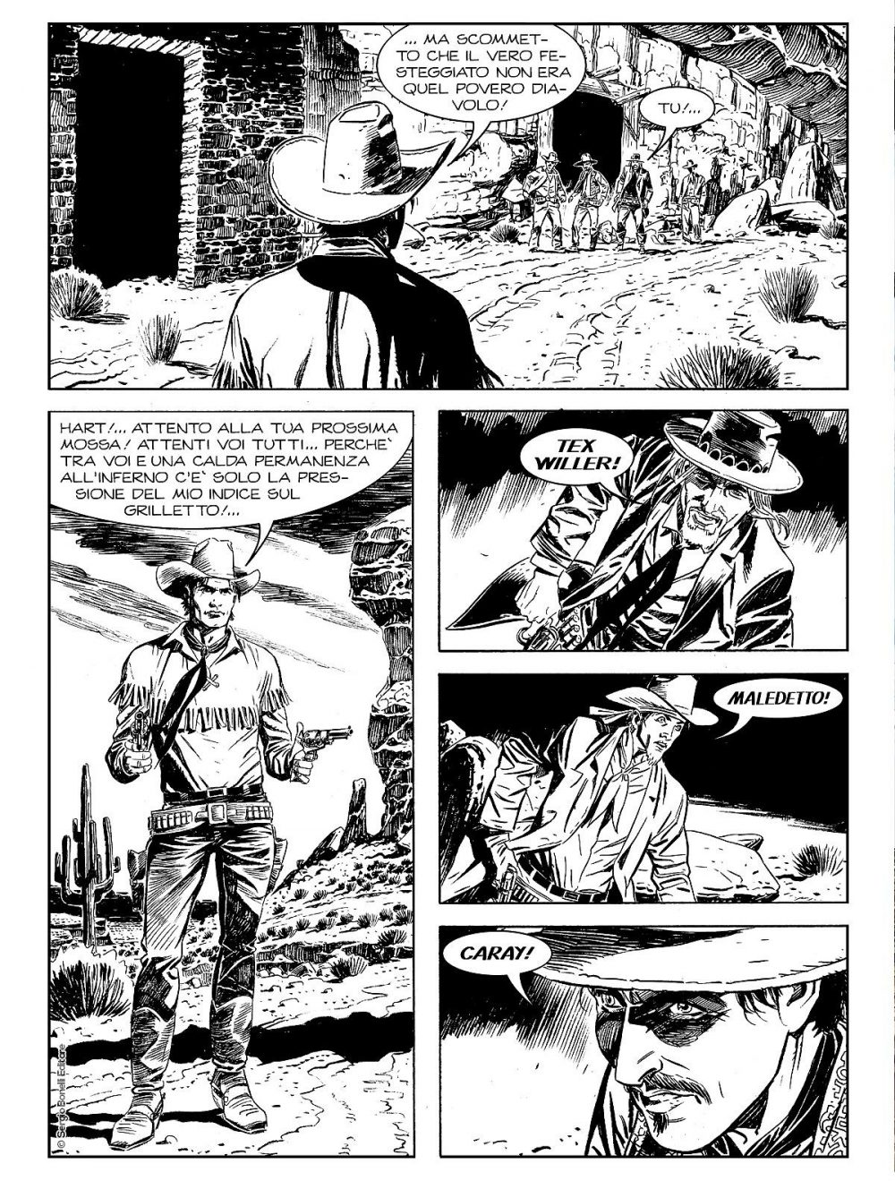Tex Willer 1: Vivo o morto!, anteprima 01