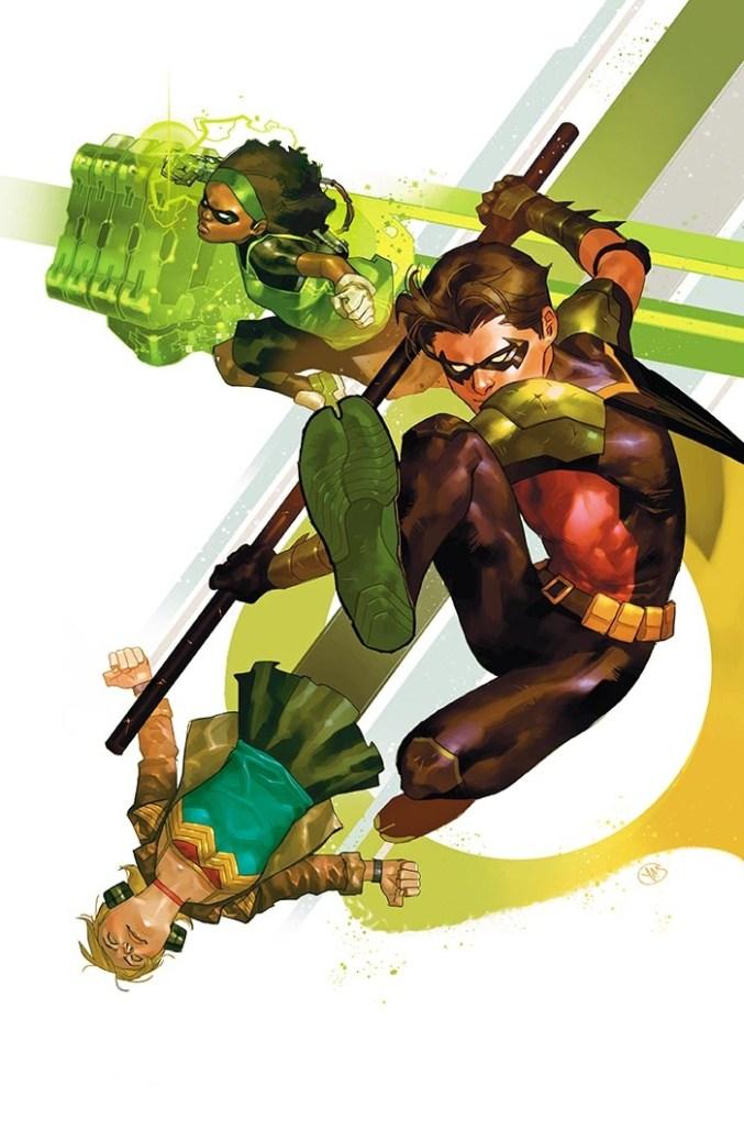 Young Justice #1, variant cover di Yasmine Putri