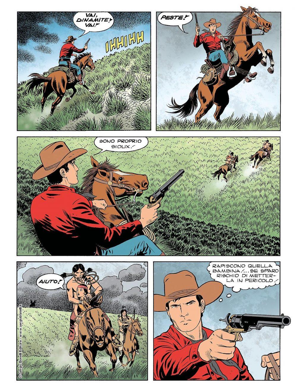 Tex 700: L'oro dei Pawnee, anteprima 01