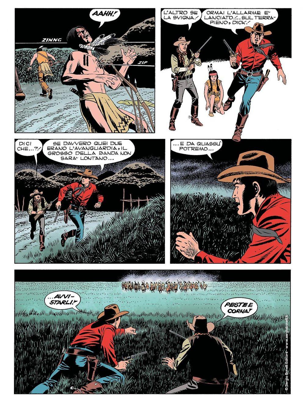 Tex 700: L'oro dei Pawnee, anteprima 03