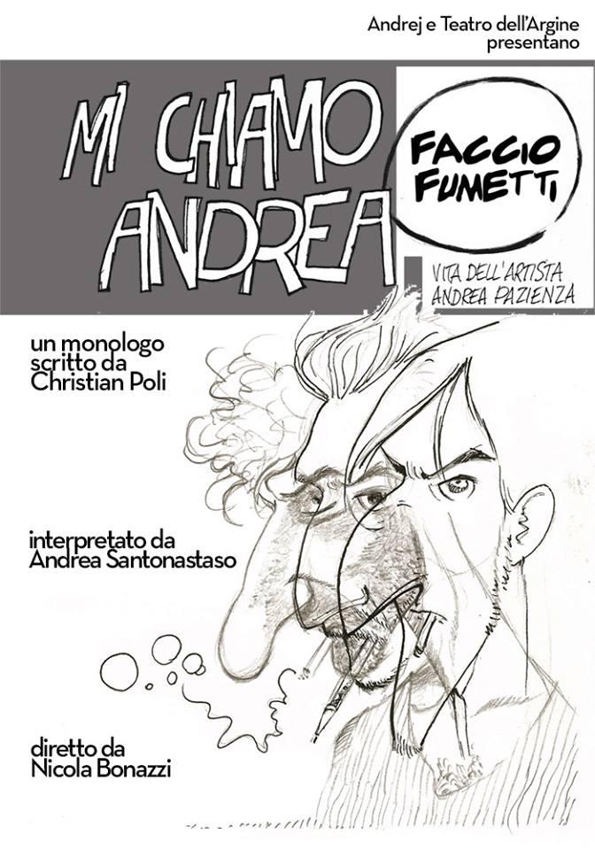 Mi chiamo Andrea, faccio fumetti