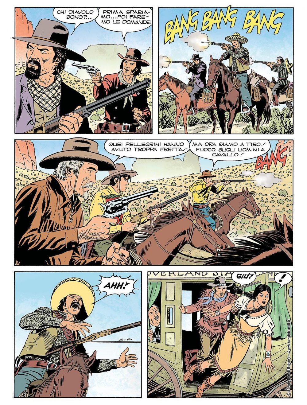 Tex 700: L'oro dei Pawnee, anteprima 04
