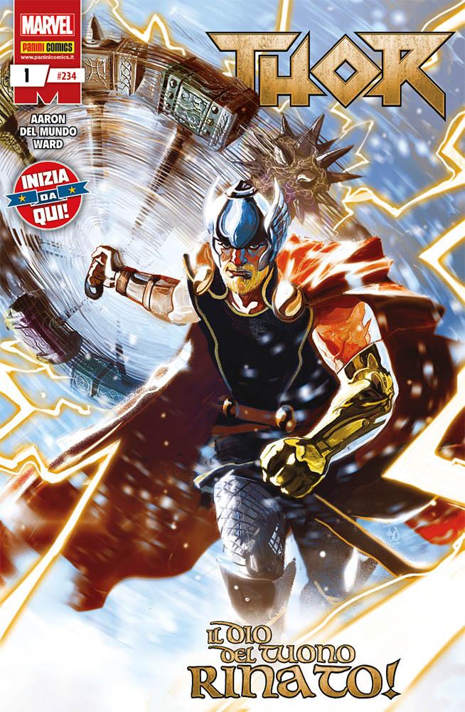 Thor 1, copertina di Mike Del Mundo