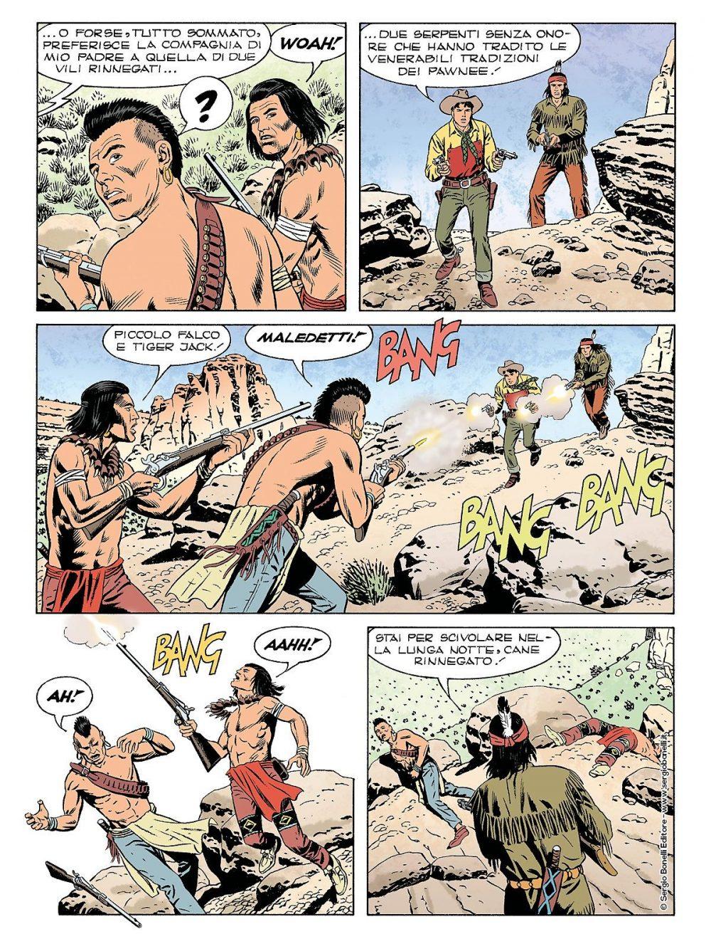 Tex 700: L'oro dei Pawnee, anteprima 05