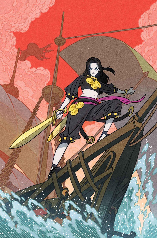 Age of Conan: Bêlit #1, copertina di Sana Takeda