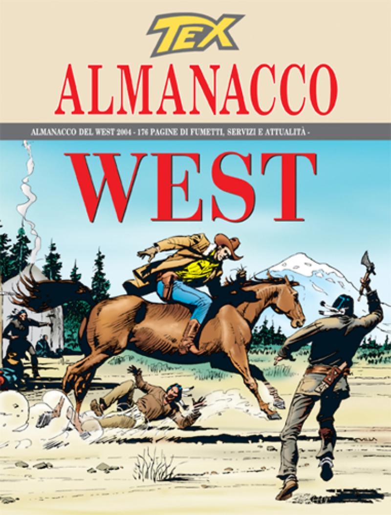 Almanacco del West 2004, copertina di Claudio Villa