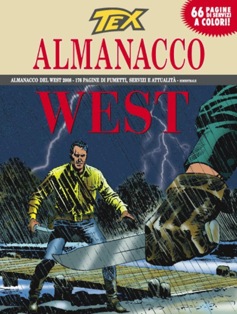 Almanacco del West 2008, copertina di Claudio Villa