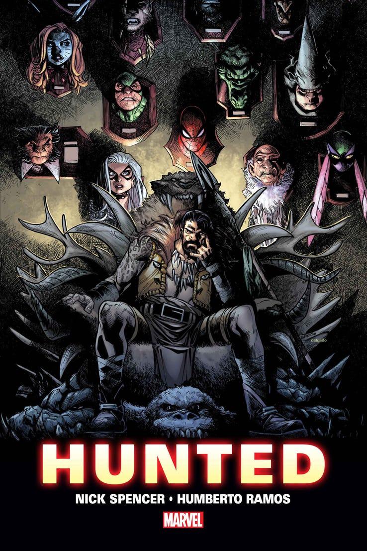 Amazing Spider-Man: Hunted, teaser di Humberto Ramos