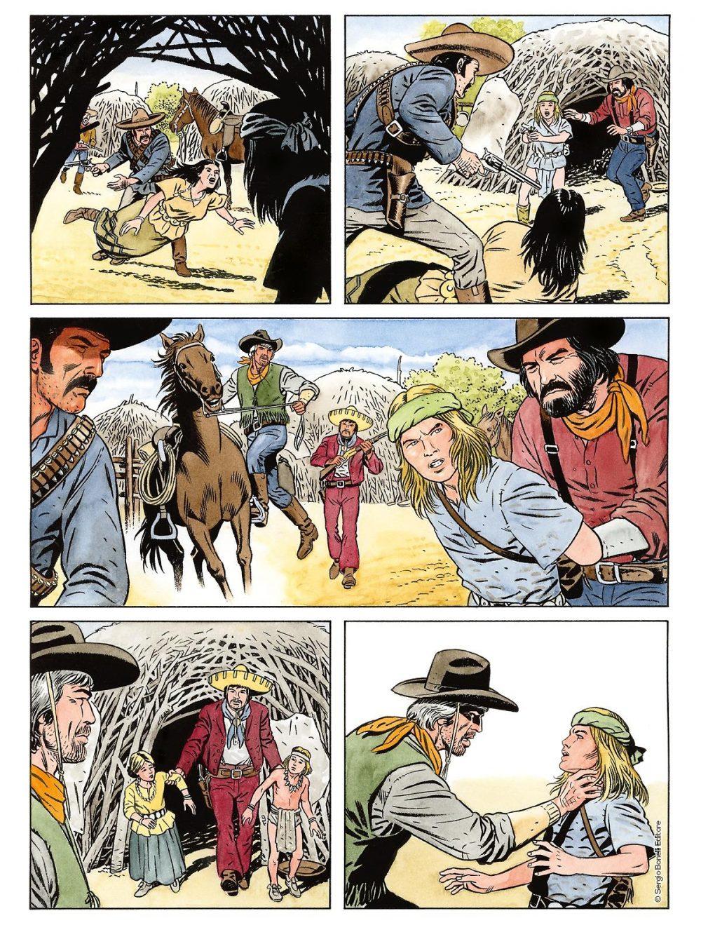 Color Tex 14: L'apache bianco e altre storie, anteprima 02