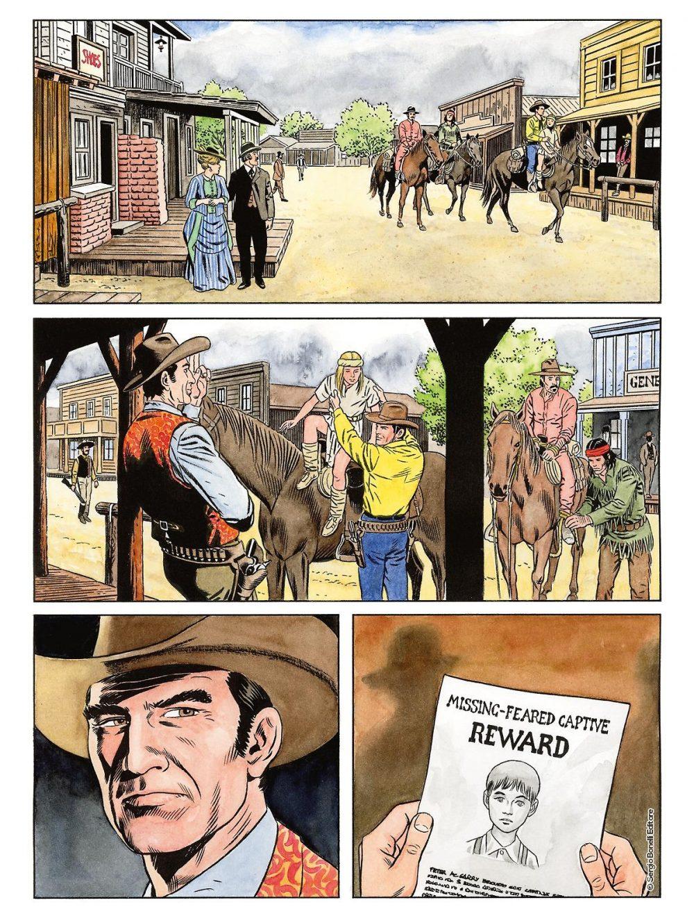 Color Tex 14: L'apache bianco e altre storie, anteprima 03