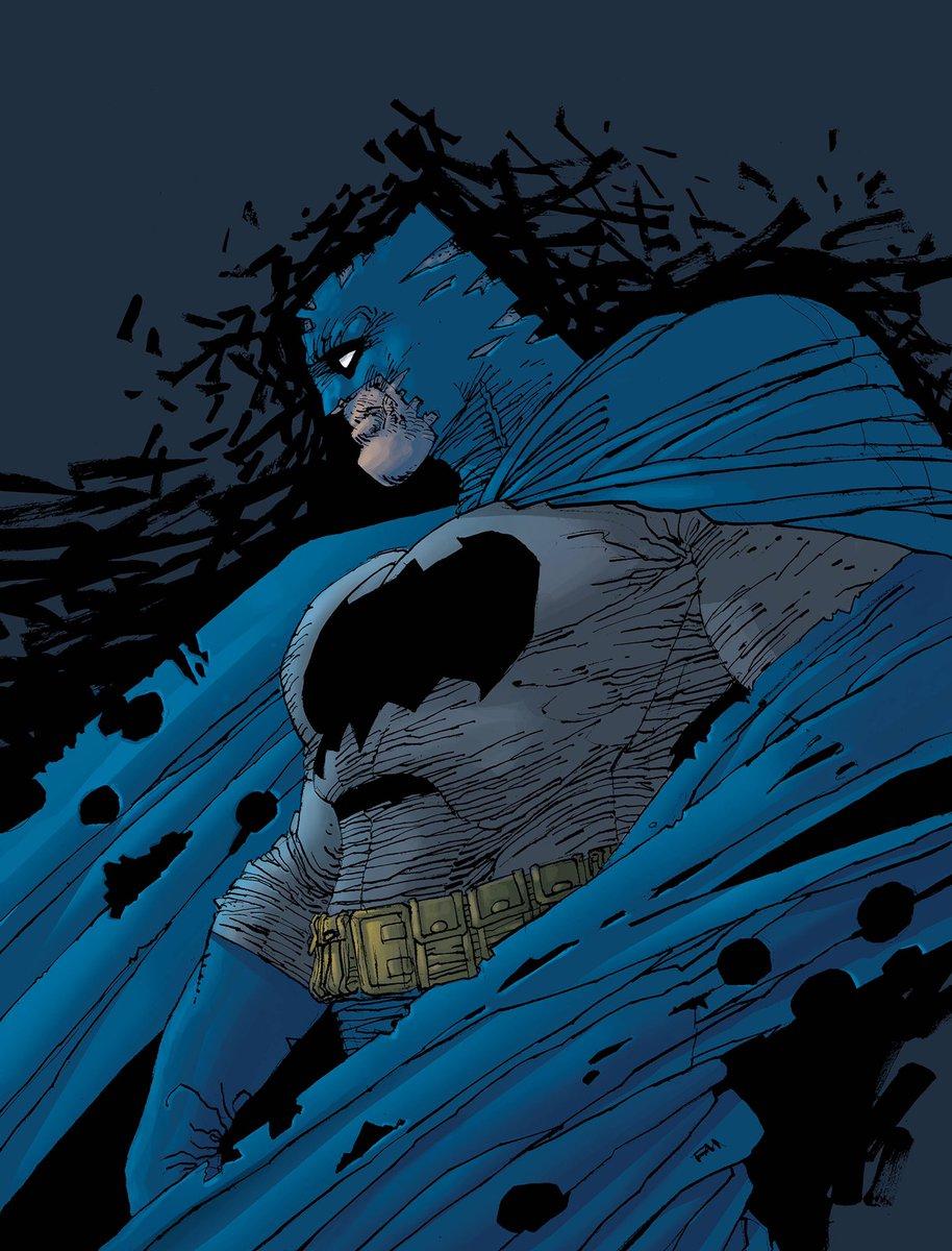 Batman, immagine promo di Frank Miller