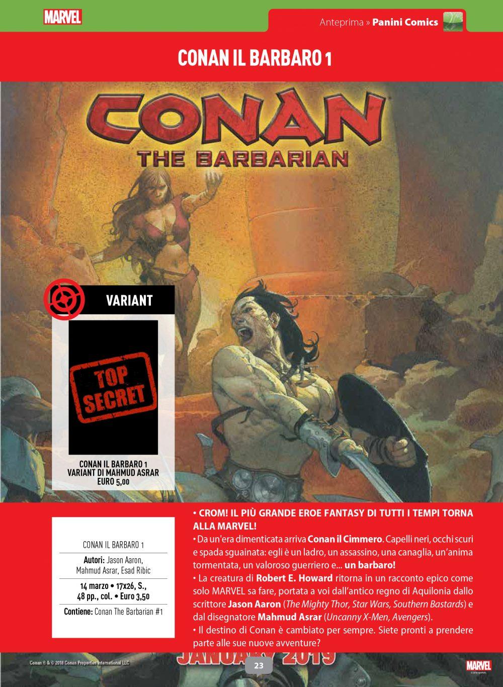 Conan su Anteprima