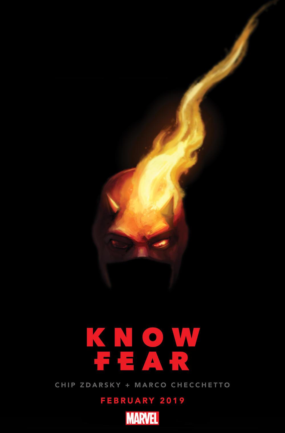 Daredevil Know Fear, teaser di Chip Zdarsky