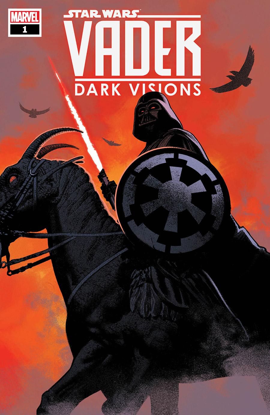 Darth Vader: Dark Visions #1, copertina di Greg Smallwood