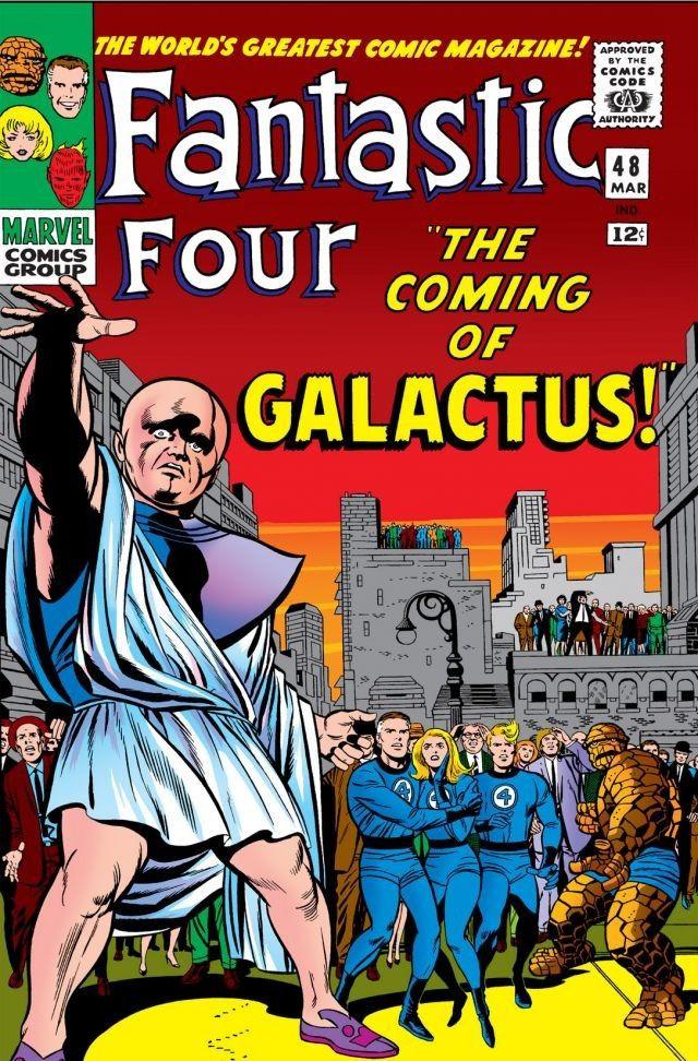 Fantastic Four #48, copertina di Jack Kirby