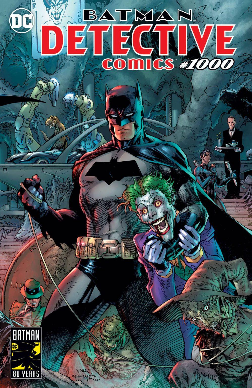 Detective Comics #1000, copertina di Jim Lee