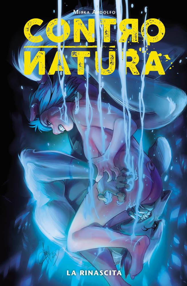 ControNatura vol.3: La rinascita, copertina di Mirka Andolfo