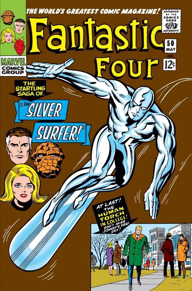 Fantastic Four #50, copertina di Jack Kirby