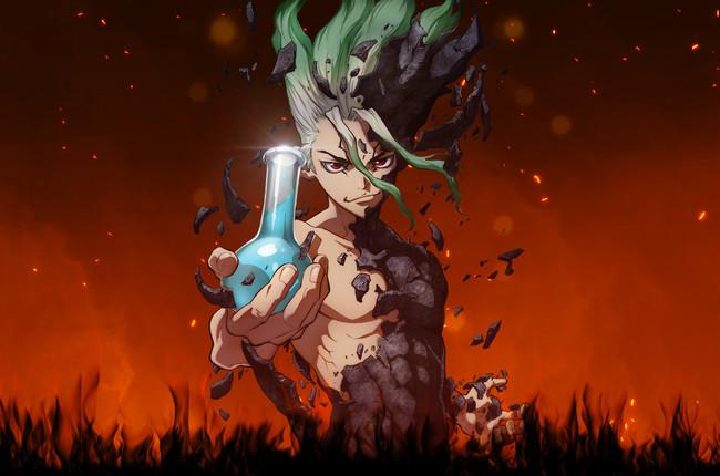 Dr. Stone, visual anime