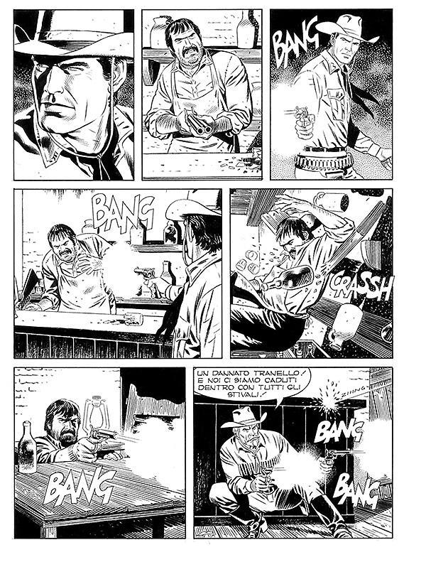 Tex 673: Il segno di Yama, anteprima 02