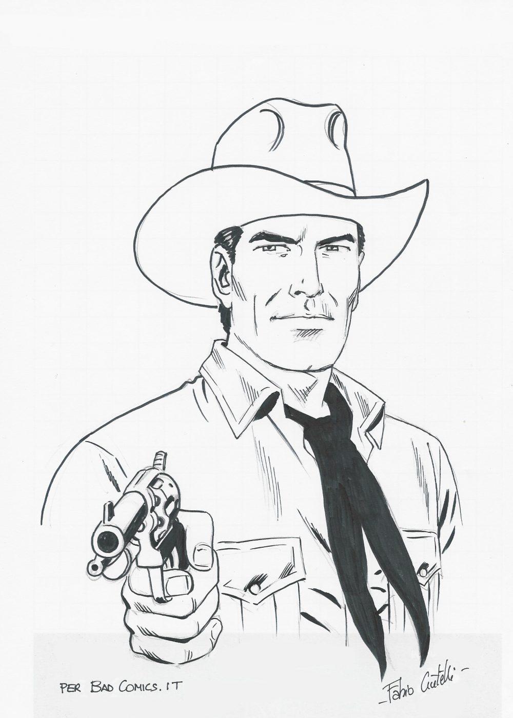 Tex, illustrazione di Fabio Civitelli