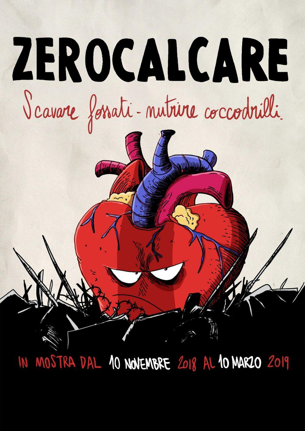Zerocalcare - Scavare fossati, Nutrire coccodrilli, locandina di Zerocalcare