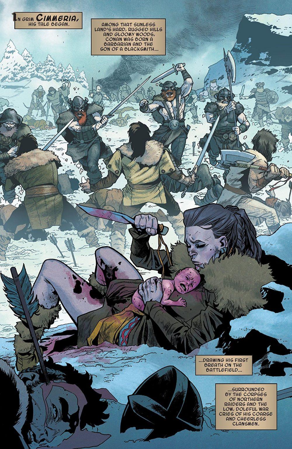 Conan the Barbarian #1, anteprima 02