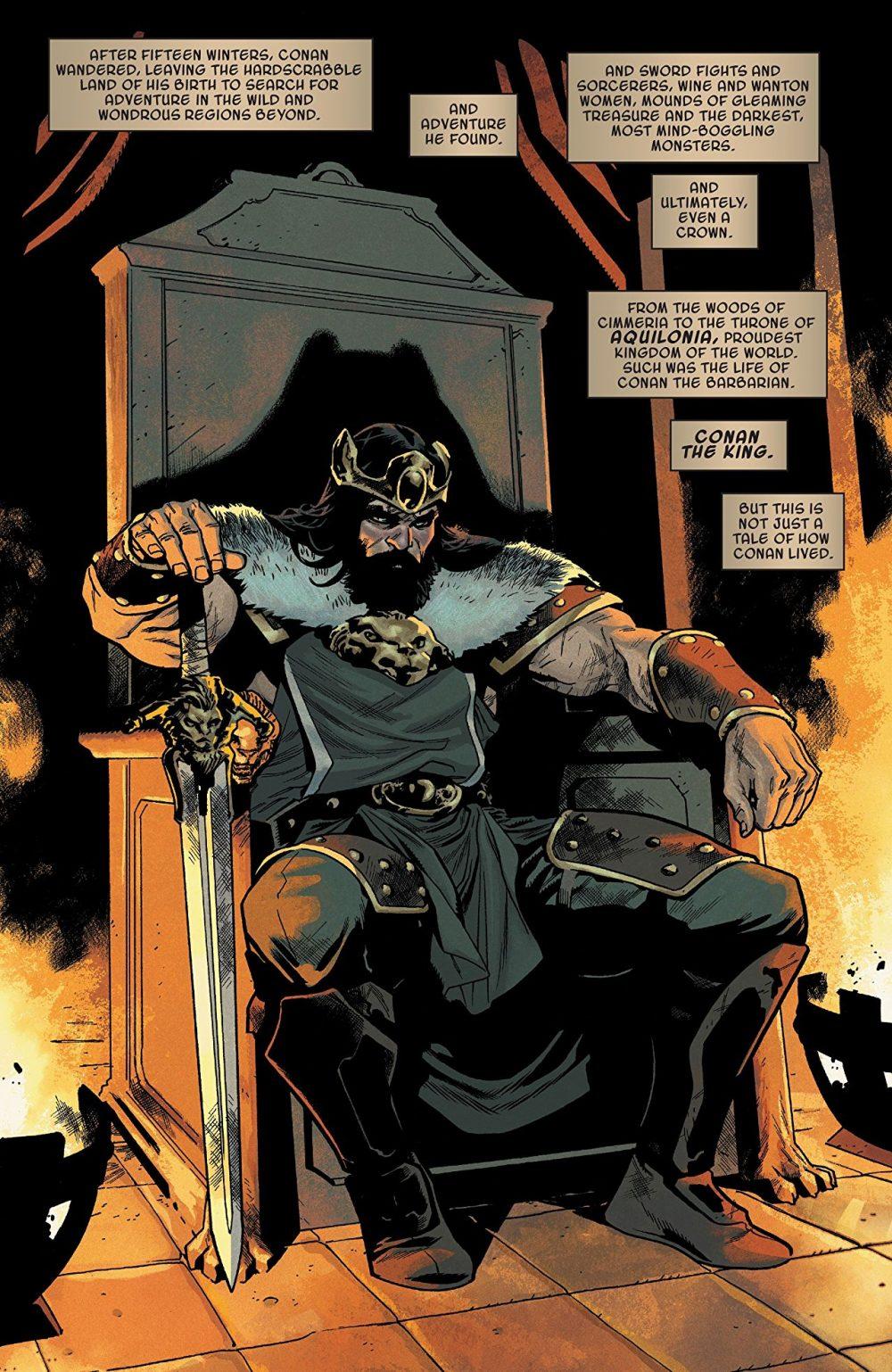 Conan the Barbarian #1, anteprima 03
