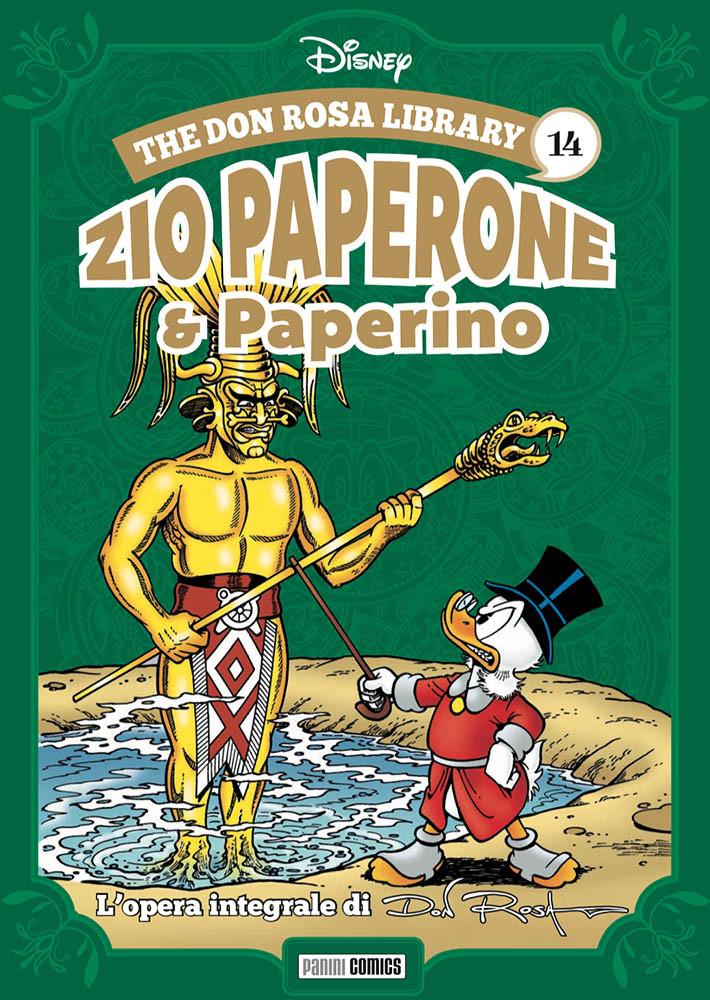 Zio Paperone e Paperino vol.14, copertina di Don Rosa