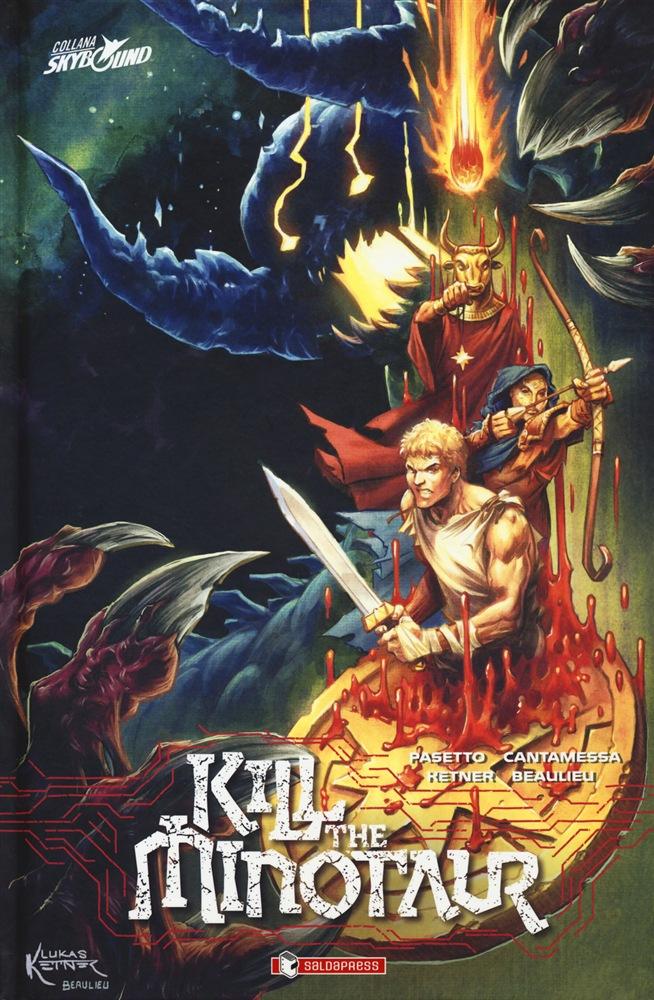 Kill the Minotaur, copertina di Lukas Ketner