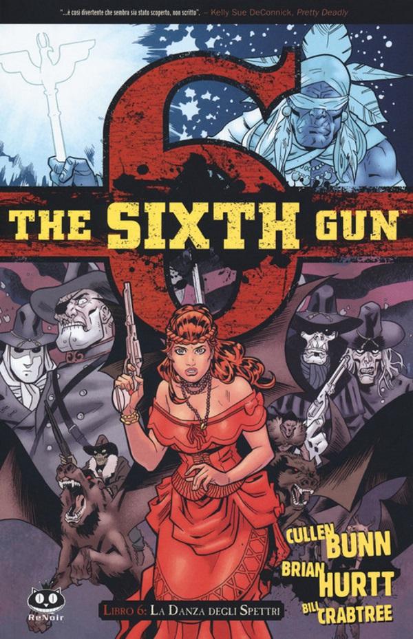 The Sixth Gun vol. 6: La danza degli spettri, copertina di Brian Hurtt