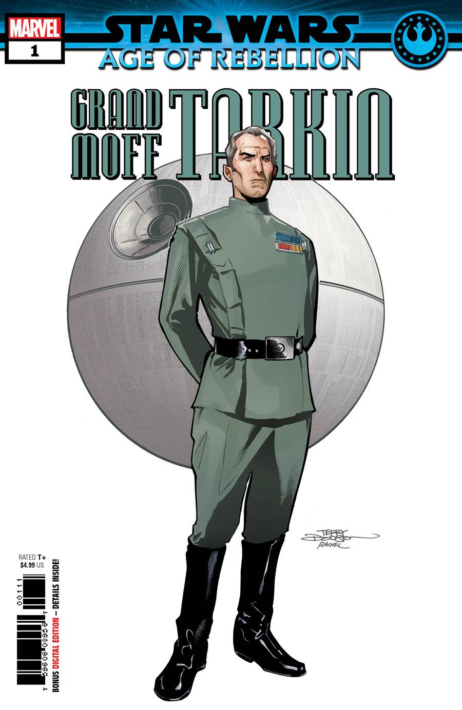 Star Wars: Age of Rebellion - Tarkin #1, copertina di Terry Dodson