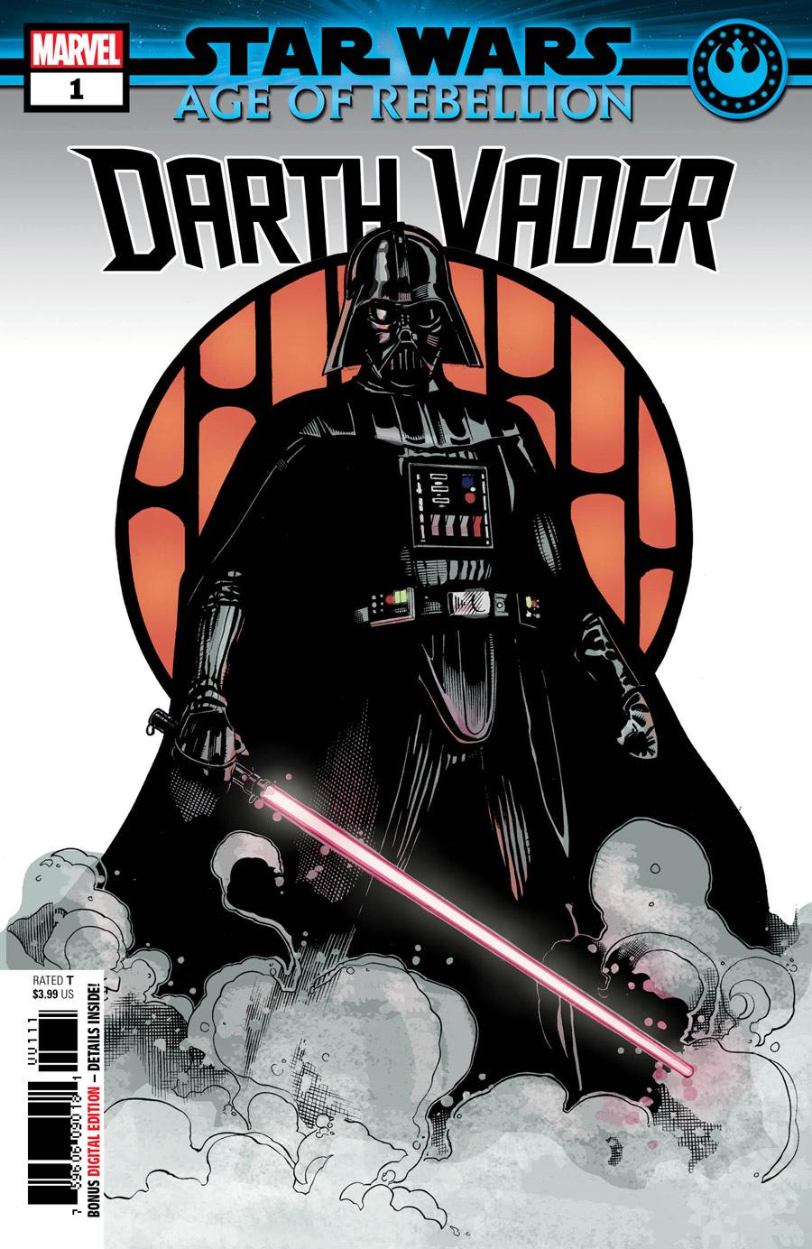 Star Wars: Age of Rebellion - Darth Vader #1, copertina di Terry Dodson