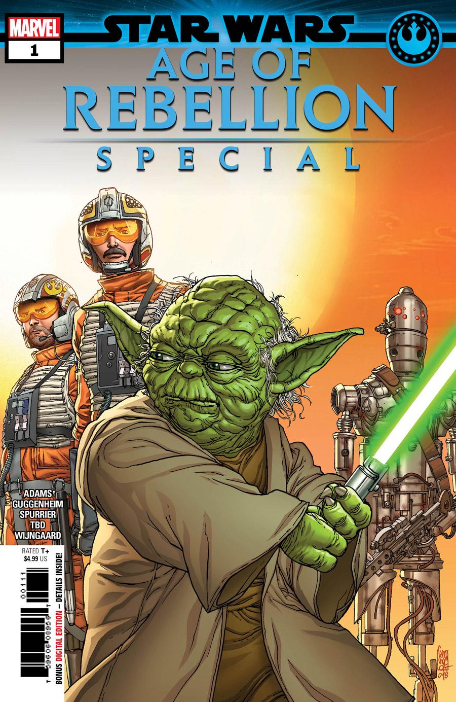 Star Wars: Age of Rebellion Special #1, copertina di Giuseppe Camuncoli
