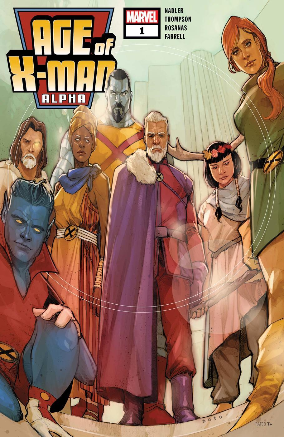 Age of X-Man: Alpha #1, copertina di Phil Noto