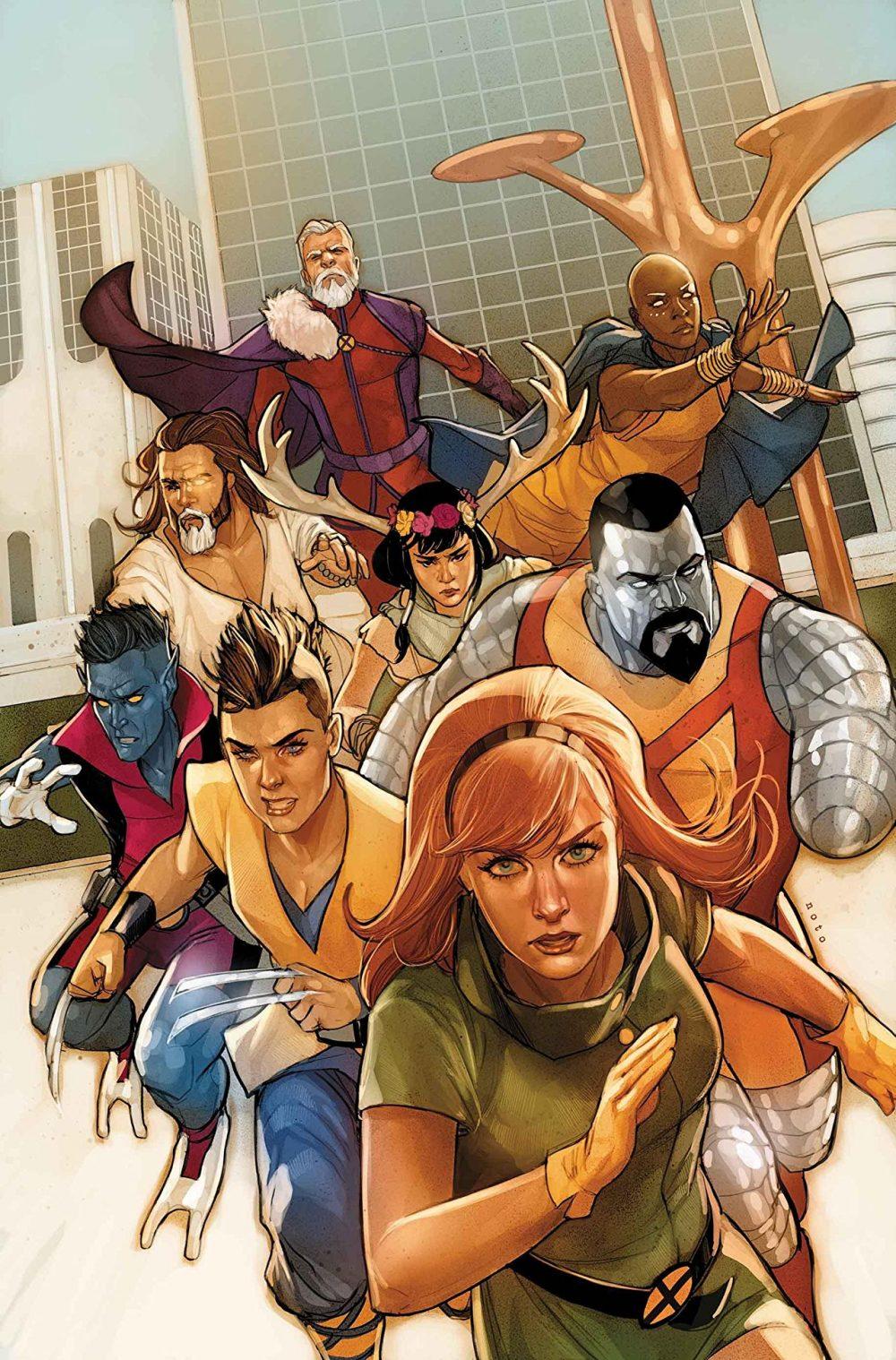 Age of X-Man The Marvellous X-Man #1, copertina di Phil Noto