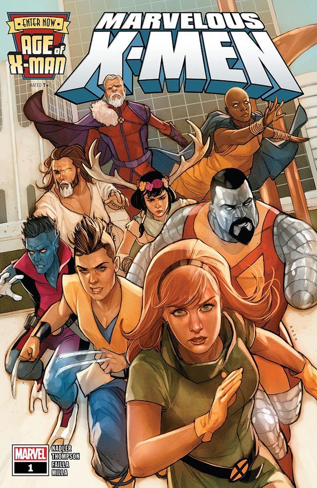 Age of X-Man: The Marvelous X-Men #1, copertina di Phil Noto