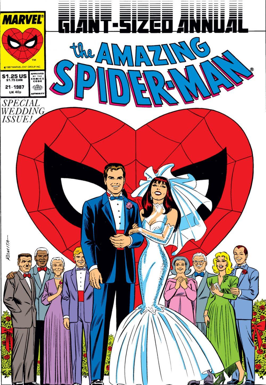 Amazing Spider-Man #21, copertina di Paul Ryan