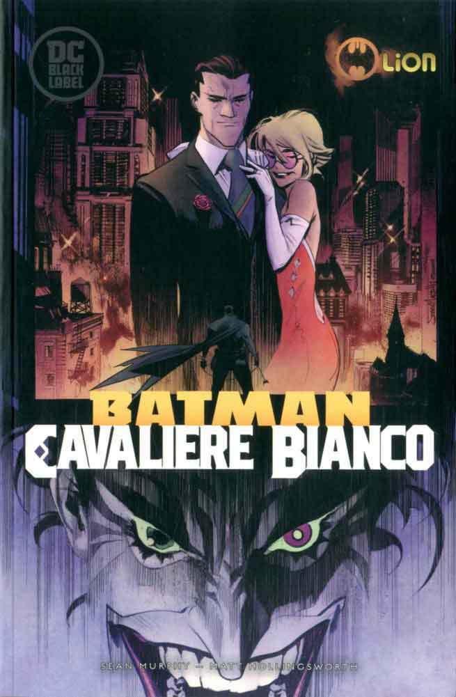 Batman: Cavaliere Bianco vol. 1, copertina di Sean Gordon Murphy