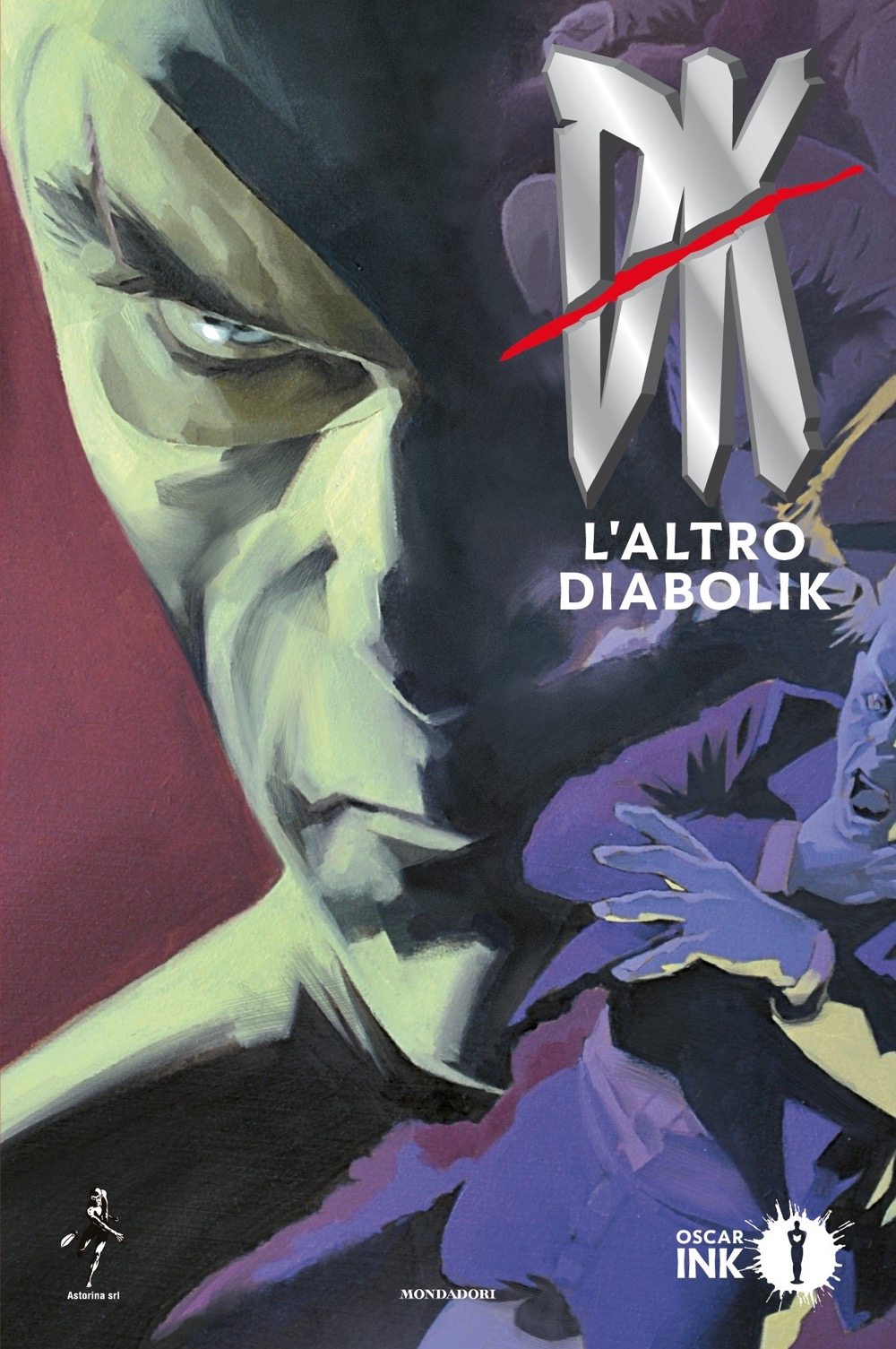DK – L'altro Diabolik, copertina di Matteo Buffagni