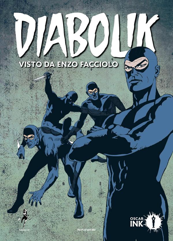 Diabolik visto da Enzo Facciolo, copertina di Enzo Facciolo