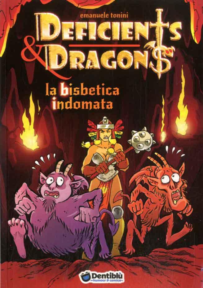 Deficients & Dragons: La bisbetica indomata, copertina di Giosuè Borsini