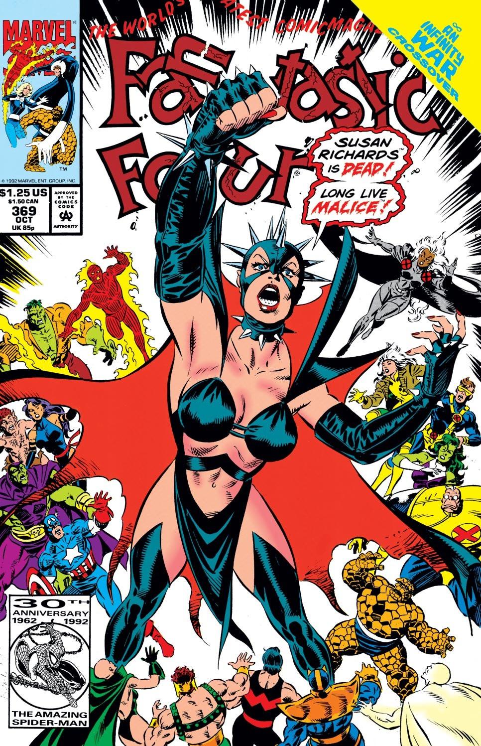 Fantastic Four #369, copertina di Paul Ryan