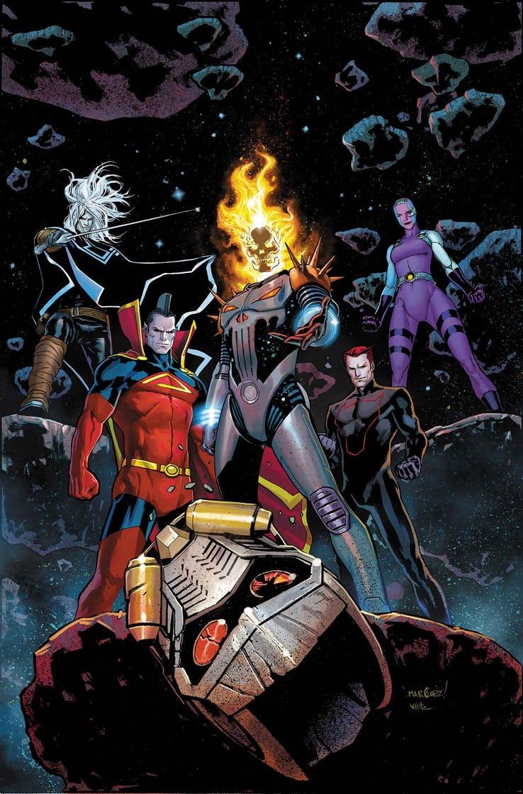 Guardians of the Galaxy #3, copertina di David Marquez